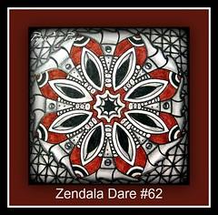 Zendala Dare #62 (Poppie_60) Tags: pen drawings doodle tangle zentangle zendoodle ziazentangleinspiredart zendaladares