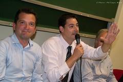 Cyril JUGLARET (Philippe MARC - Photographies ARles - MEDIACAM13) Tags: conference arles tourisme patrimoine debat cyriljuglaret