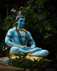 Lord Shiva - meditating (Saurav Pandey) Tags: sculpture india statue god bangalore shiva karnataka shiv bholenath lordshiva hindudeity anekal jigani svyasa giddenahalli prashantikutiram prashantikutiramcampus swamivivekanandayogaanusandhanasamsthana svyasaorg