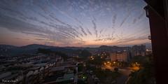 DSC_1604-6 (。菲特凱特.FatCat。) Tags: sky cloud mountain tower landscapes nikon scenery photomerge taipei 台北 pylons 雲 tamron 山 風景 天空 汐止 d600 塔 am5 電塔 tamronspaf1735mmf284dildasphericalif