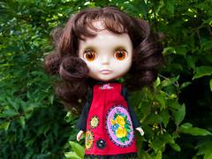 Petunia (Helena / Funny Bunny) Tags: vintage doll kenner blythe 1972 smock blekinge torpet kennerblythe funnybunny petuniakibbles fbfashion