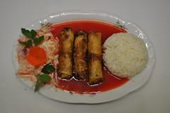 Sajgonki 3 szt. z ryżem