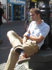casual bare leg (fluppes_be) Tags: belly bulge hotguy hotbloke blacksocks hotman bareleg malelegs manbulge sexybelly hotbulge nudehairyleg hotmalelegs manhotsocks nudelegman sexybareleg