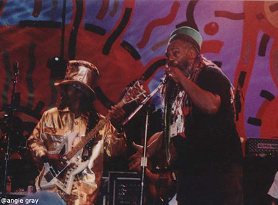 Bootsy  and  George Clinton_Woodstock