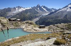 Massif du Mont-Blanc, lac Blanc (Ytierny) Tags: france horizontal altitude chamonix montblanc refuge alpinisme lacblanc randonne hautesavoie sommet et aiguillesrouges aiguilleduchardonnet glacierdargentire glacierdutour plandeau hautemontagne aiguilledargentire valledechamonix massifalpin alpesdunord ytierny