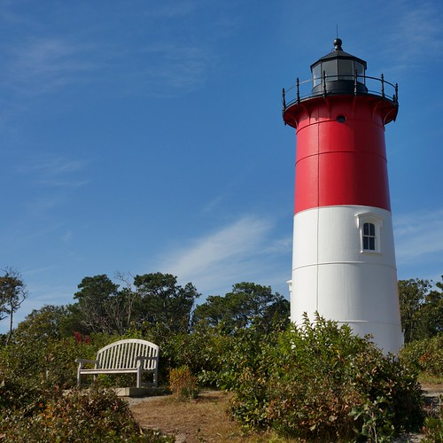 Nauset Lighthouse, Cape Cod, Massachusetts.