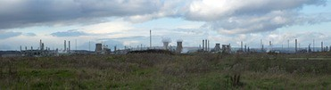 Grangemouth petrochemical © John GNU Free Documentation