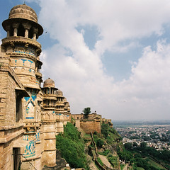 Gwalior fort (Duc_Sla / www.Tranquangduc.com) Tags: city travel india building architecture fort hasselblad architect gwalior ducsla tranquangduc ductranvn