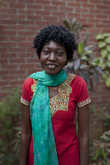Ngatho Mugo an AYAD works at ICDDR,B researching maternal child health at the Centre for Child and Adolescent Health