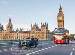 _W9O2501 (Philip Pound Photography) Tags: bridge westminster car vintage rally housesofparliament bigben clocktower veteran londonbrighton rac westminsterbridge londontobrighton 2013 lbvcr november2013 226ah2