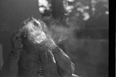 Unknown Zero (Yaj Rollseiger) Tags: blackandwhite girl monochrome analog smoke agfa argentic