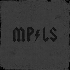 Minneapolis (NELSONICBOOM) Tags: blackandwhite music minnesota acdc vintage logo typography graphicdesign words cool midwest funny text humor minneapolis retro type spoof rocknroll tunes mn lightningbolt