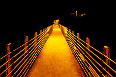 Bridge Made of Light (Vafa Nematzadeh Photography) Tags: