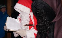 Samichlaus und Schmutzli (bcuzwil) Tags: santa christmas kids club weihnachten schweiz switzerland kinder weihnachtsmann claus badminton wald bcu samichlaus uzwil badmintonclub schmutzli