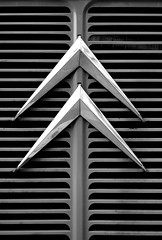 Citron (zawtowers) Tags: christmas white black monochrome logo manchester mono flickr december sunday markets front vehicle grille van iconic chevron 15th groups manchesteruk spinningfields 2013 citrpn vision:text=0695 vision:outdoor=0548