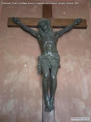 Edmondo Prati Crocifisso bronzo, Cappella del cimitero (Sergio Sartori) 1927