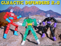 GLYACTIC DEFENDERS 2.0 ... Micronauts-inspired, GLYOS compatible action figure builds by Alexis Dyer (Alexis Dyer) Tags: alexis fiction jesse matt toy toys design robot action space science dyer plastic moore stuff figure indie doughty customized fi custom build figures takara android futuristic sci builds defender mego galactic micronauts customizing micronaut custommade compatible microman 334 innespace onell glyos glyan callgrim