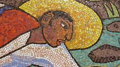 Diego Rivera: Rio de Juchitan  Bao en el Rio  Bao de Tehuantepec (ca 1956, venetian mosaic) (sftrajan) Tags: museum mexicocity musee museo ciudaddemexico mexicodf mexicanart mxicodf  museosoumaya  mxicocity  vision:outdoor=0716 2014mexico