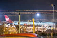 Virgin Atlantic G-VFIT Airbus A340-600 (Simon.Davison.Photography) Tags: plane canon newcastle airport heathrow aircraft flight virgin airbus passenger airbusa340 a340 virginatlantic newcastleairport londonheathrow a340600 airbusa340600 virgingroup canon6d gvfit