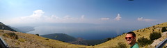 Panorama Lake Ohrid
