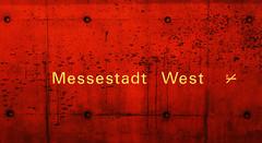 Messestadt West (CA_Rotwang) Tags: station underground subway munich mnchen u2 bayern bavaria ubahn riem