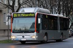 Linz (austrianpsycho) Tags: bus linz 26 402 fahren cng linzlinien citaro linzaglinien linienbus o530g erdgasbus o530cng