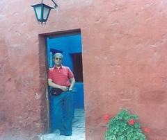 En el Convento de Santa Catalina, Arequipa. Perú, febrero de 2006.