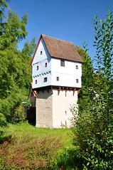 Bayern, Rothenburg ob der Tauber, Topplerschlosschen 1388_6 (Seeadler 1) Tags: bayern kirche brcke turm tal weinberg wasserrad wassermhle tauber rothtenburg tabertal