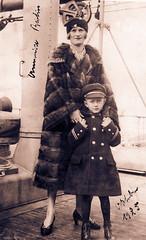 Vater und Oma 1925 (Klaatu...) Tags: usa oldpictures amerika 1925 1924 altebilder