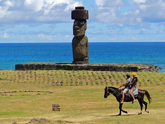 View Tahai on horseback