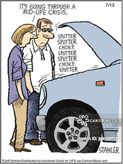 www.cartoonstock.com/cartoonview.asp?catref=jsh120713 (AceAutoRepairUT) Tags: breakdown breakdowns car cars vehicle vehicles brokendown midlifecrisis age aging ageing gettingold growingold individuation selfawareness selfactualisation selfgrowth midlifetransition cartoon cartoons