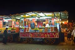 Fruit stalls (T Ξ Ξ J Ξ) Tags: morocco marrakesh djemaaelfna d750 nikkor teeje nikon2470mmf28 fruit stall
