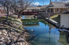 The Blue Creek (keycmndr) Tags: bridges cybershutterbug hdr people photographersontumblr saltlakecity streetphotography utah