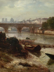JONGKIND Johan Bartold,1853 - Vue de la Seine à Paris, le Pont-Royal et le Pavillon de Flore (Custodia) - Détail 10 (L'art au présent) Tags: art painter peintre details détails detalles painting paintings peinture peintures 19th 19e peinture19e 19thcenturypaintings 19thcentury detailsofpainting detailsofpaintings tableaux frenchpaintings peinturefrançaise frenchpainters peintresfrançais custodia paris fondation foundation france museum johanbartoldjongkind johan bartold jongkind johanbartold sky ciel house houses maison édifices built louvre paysage landscape pont bridge tree trees arbres nature seine bark barks barque quai warf notredame invalides nuages clouds horse cheval cgevaux horses animal animaux animals detail