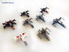 Xwing technic study (did b) Tags: xwing lego legomoc legocreation legodesign starwars moc microscale