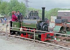 Ffestiniog Railway's Hunslet 100, May 1993 (Tony_6) Tags: hunslet ffestiniog railway ffestiniograilway hunslet100