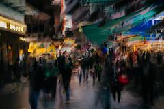 Temple Street (hansekiki ) Tags: china hongkong yaumatei icm intentionalcameramovement multipleexposure mehrfachbelichtung canon 5dmarkiii