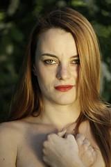 Natural Beauty III (Paolo Dallavalle) Tags: ragazza girl portrait ritratto nature natura canon eos nudo implicito beauty red head capelli rossi primavera spring skin pelle clear chiara young giovane parco park decolletè