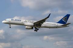 Air Astana / B752 / P4-EAS / EGLL 27L (_Wouter Cooremans) Tags: egll lhr london heathrow spotting spotter avgeek aviation airplanespotting air astana b752 p4eas 27l airastana