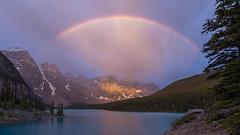 Spanning Morning at Moraine (Ken Krach Photography) Tags: banffnationalpark lakemoraine