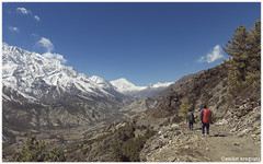 J O U R N E Y (taptu17) Tags: annapurna himalaya landscape trekking mountains