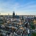 Blick über Kölner Altstadt