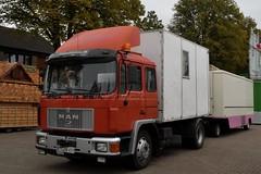 D - nameless MAN F90 (BonsaiTruck) Tags: kirmes rummel scxhausteller funride fete foraine schaustellerfahrzeug kirmesfahrzeuge lkw truck trucks lorry lorries camion nameless man f90