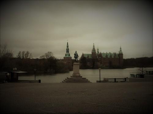 Hillerød - Frederiksborg Slot from Torvet