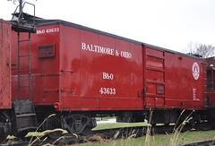 Coldwater, Michigan ( 10 of 10) (Bob McGilvray Jr.) Tags: coldwater mi michigan boxcar bo baltimoreohio railroad train tracks littleriverrailroad
