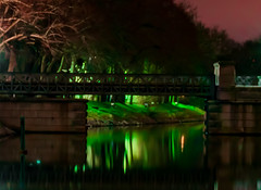 Small bridge to Djurgarden at night green grass in background (Daniel BJ Bengtsson) Tags: 1when 2where 3subject adressstreetetc bridge citypostaladress country county djurgården night stockholm sweden timeofday