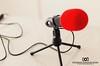 Condenser Microphone (Dinushan Paranavithana) Tags: condenser microphone ebay red mic canon 60d