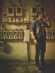 HipstaPrint (dimakk) Tags: hipstamatic europe greece grece grecia griechenland greka yunanistan athens athina atina athenes athen atene atenas aten art architecture man male model smoking body basement retro grunge steampunk greek texture light daylight shadow shadows
