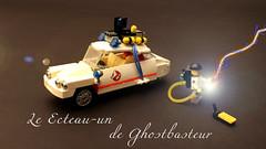 Le Ecteau-un de Ghostbasteur (OutBricks) Tags: lego afol citroen ghostbusters ecto1 moc