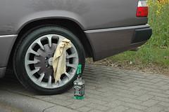 Mercedes C124 #3 (Rob de Hero) Tags: carsamstag limburg carfriday cars auto classic mercedes c124 coupe eklasse eclass tuning tuned car jack daniels jackdaniels benz mercedesbenz tuner